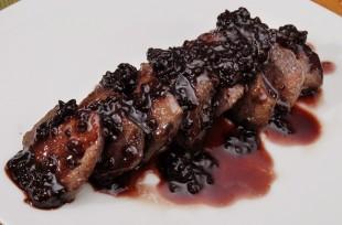 blackberry venison